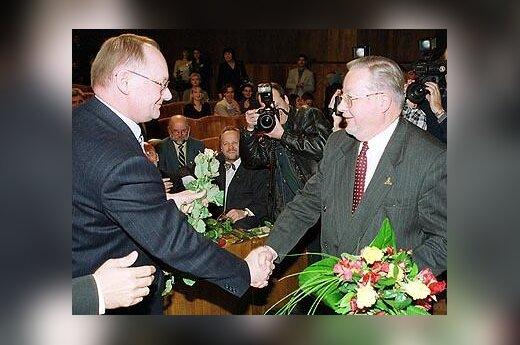 Č.Juršėnas, V.Landsbergis