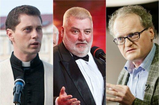 Ričardas Doveika, Alfredas Bumblauskas, Leonidas Donskis