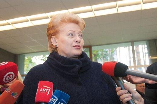 Grybauskaitė: Elektrowni nie chce mniej niż jedna trzecia uprawnionych do głosowania