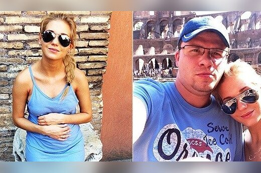 Кристина Асмус готовится к родам в Италии