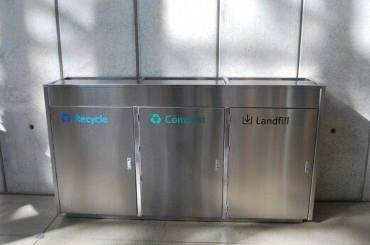 Paprasta rūšiuoti - Waste Management Bins iš Recology © Rocketlass