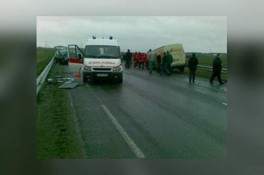 За неделю на дорогах Литвы погибли 8 человек
