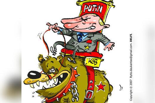 Vladimiras Putinas, Maskva, Rusija