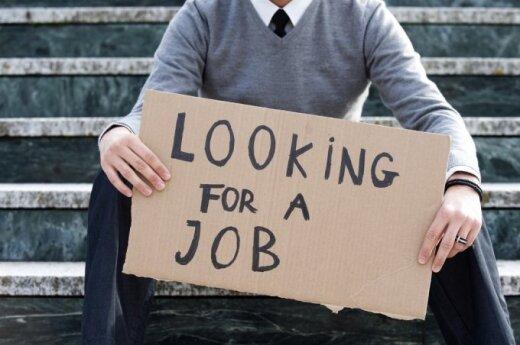 Уровень безработицы в Литве выше среднего показателя в ЕС