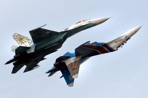 Rusijos naikintuvai Su-27