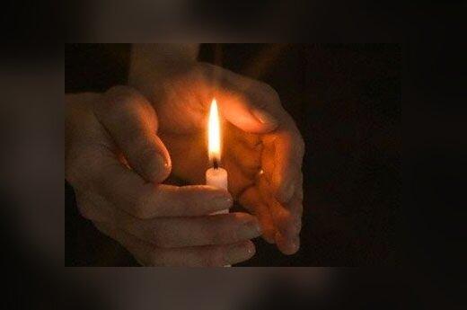 Žvakė, degti