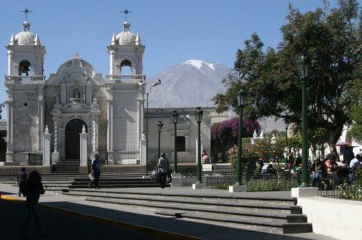 Peru pietinę pakrantę supurtė 6,4 balo žemės drebėjimas