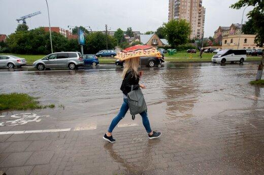 Погода: синоптики снова прогнозируют дожди