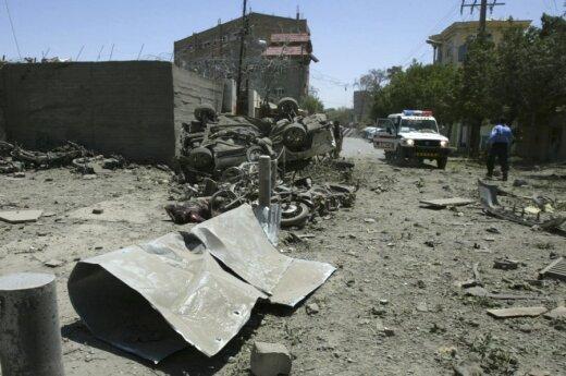 Užpulta NATO bazė Afganistane