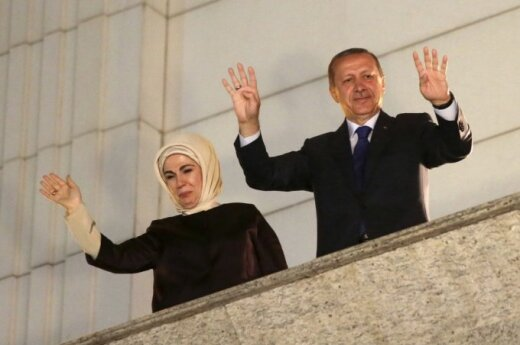 Turkey's Prime Minister Recep Tayyip Erdoğan was elected president on Sunday