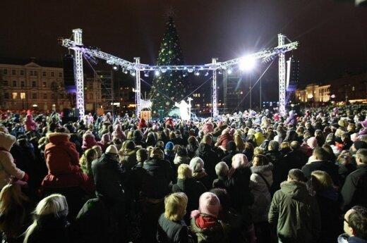 В субботу в Вильнюсе стартует Рождество