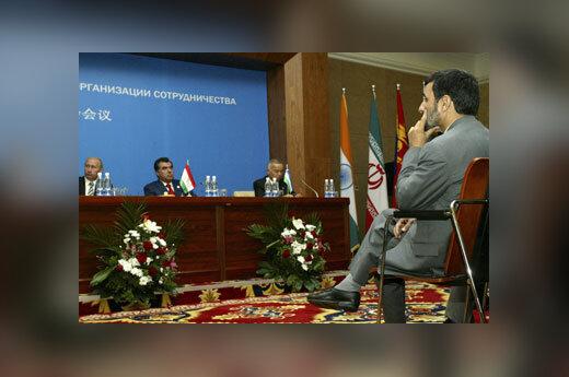 Irano prezidentas - ŠBO susitikime