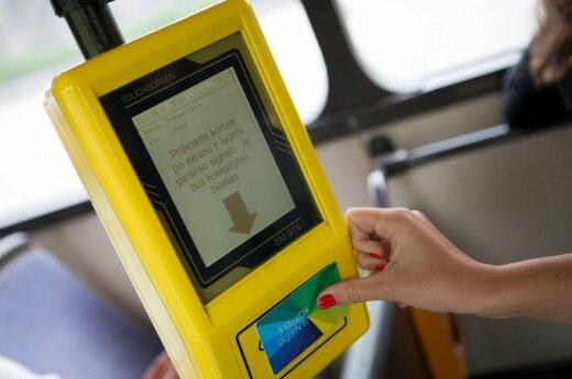 Elektroninis transporto bilietas nesuveikė dėl apgavystės?