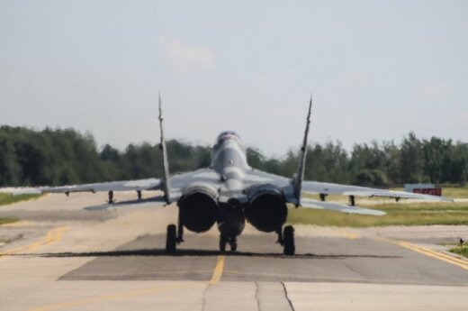 NATO jets scrambled from Lithuania 3 times last week over Russian airplanes