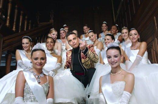 Kadras iš Robbie Williams klipo