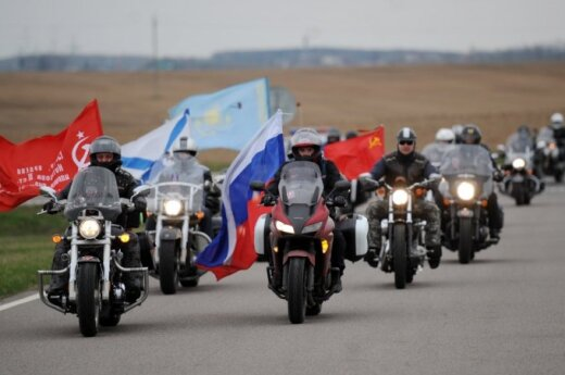 Eight Russian bikers sent back at Lithuanian border