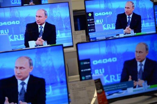 President Putin on Russian TV