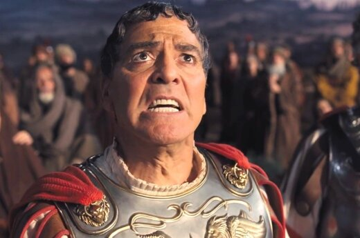 """Kadras iš filmo """"Šlovė Cezariui!"""""""