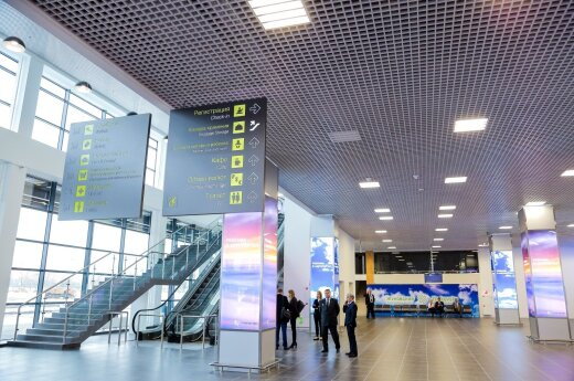 New Moscow airport built by Lithuanian company opened by Medvedev