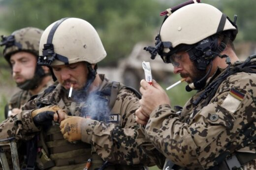 Germany to send over 500 troops to Lithuania for training this year