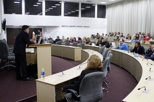 Diskusija apie universitetų klasterį