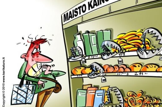 Литовцы больше всех обеспокоены ростом цен