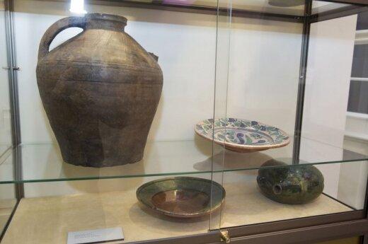 Archeologinių radinių paroda Prezidentūroje