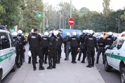 Sprawę zamieszek podczas meczu Litwa – Polska umorzono
