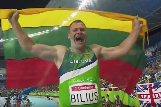 Литовский легкоатлет завоевал золото паралимпиады