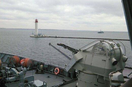 В Черном море проходят учения Украины и НАТО