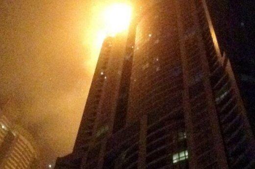 В Дубае загорелось самое высокое жилое здание в мире
