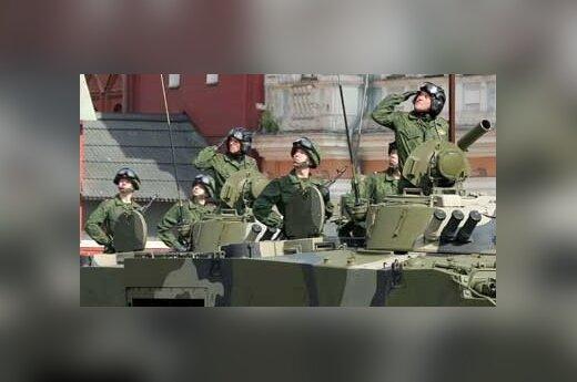 Rosja: Tańczące czołgi