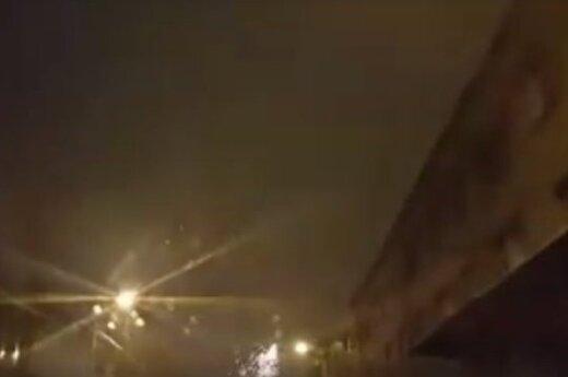 Naktiniame Kaune nufilmavo išgąsdinti galintį vaizdą