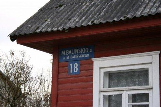 Dyrektor administracji rejonu wileńskiego nie będzie musiała płacić kary za dwujęzyczne tablice