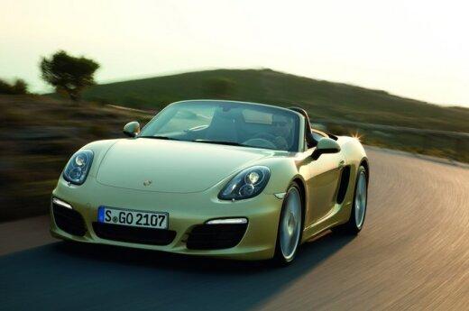 Новый Porsche Boxster рассекретили до официальной премьеры