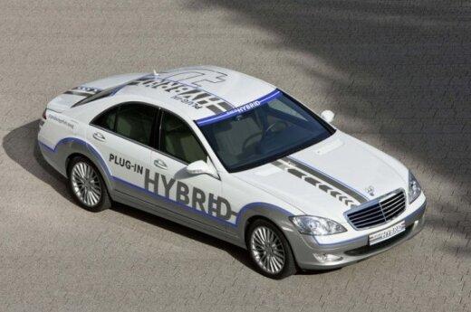 Mercedes-Benz S500 Plug-in Hybrid koncepcija