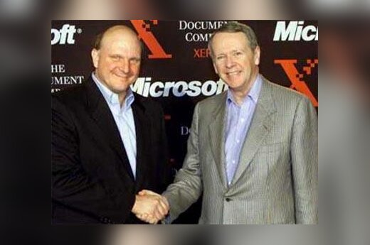 "Joins ""Microsoft"" and ""Xerox"""