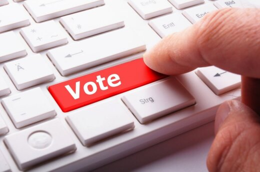 Lithuanian government endorsed electronic voting