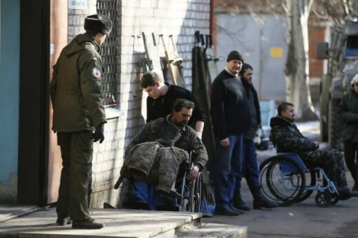 5 more Ukrainian troops come to Lithuanian hospitals