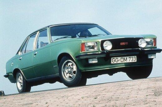 В Паневежисе угнали 35-летний Opel Commodore