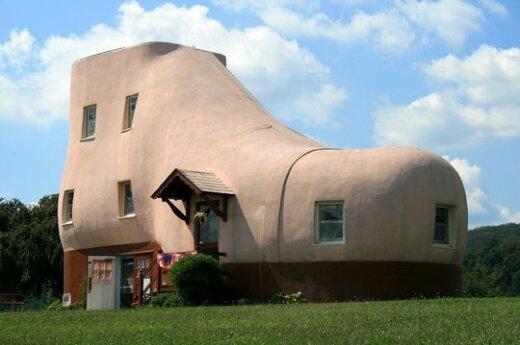 Дом-ботинок (Пенсильвания. США).