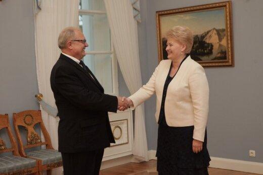 Президент вручила верительные грамоты послу Литвы в Греции