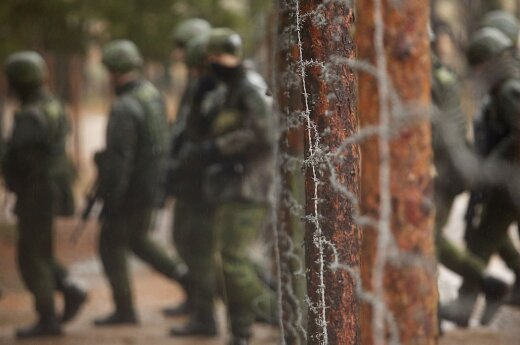 Two Lithuanian soldiers injured in explosion