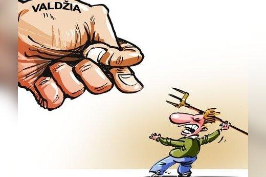 Mieszkańcy Litwy nie lubią dyskutować z władzą