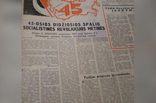 Sovietų spauda apie Spalio revoliuciją