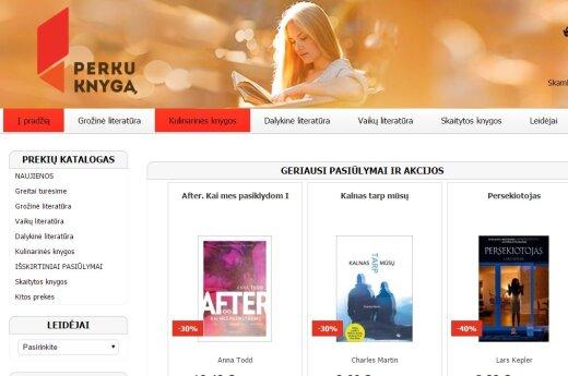 """""""Medipresa"""" žengia į elektroninės prekybos rinką – veiklą pradeda knygynas internete Perkuknyga.lt"""