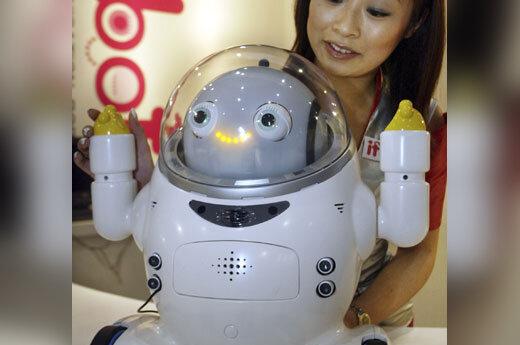 Žmogaus kalbą ir balso emocinius tonus suprantantis robotas