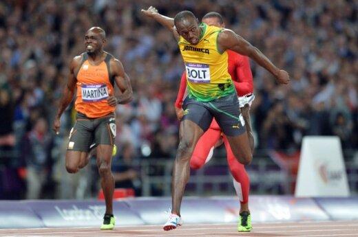Usainas Boltas tapo olimpiniu sprinto čempionu