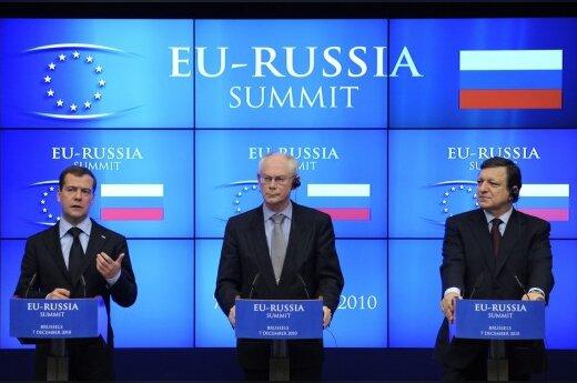 Дмитрий Медведев, Херман ван Ромпёй, Жозе Мануэль Баррозу