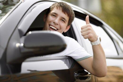Patenkintas vairuotojas